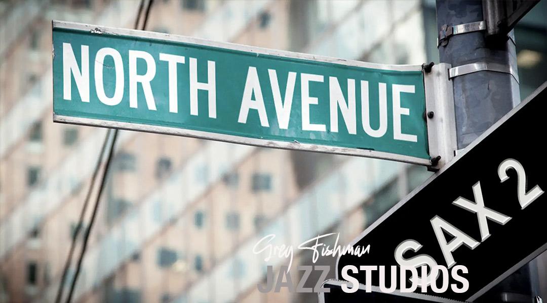 North Avenue – 2nd Sax Part