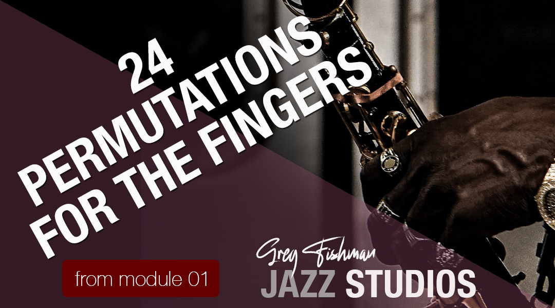 24 Permutations for the Fingers
