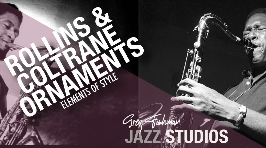 Rollins & Coltrane Ornaments