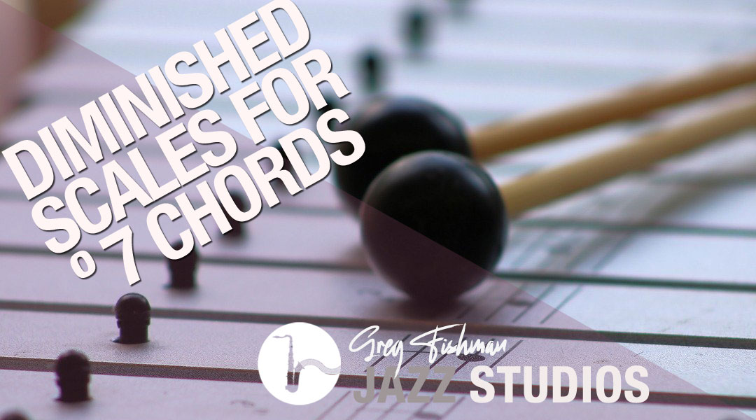 The Diminished Scale over a Cº7 Chord – New System